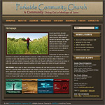 WordPress Church Theme 01
