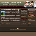 WordPress Church Theme 02