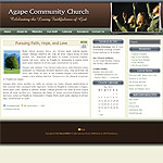 WordPress Church Theme 06