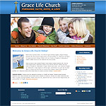 WordPress Church Theme 07B