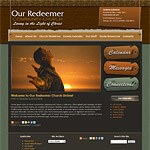 WordPress Church Theme 08